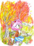 Amy Rose: Fall