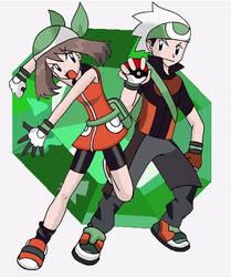 Emerald May and Brendan by Teejii