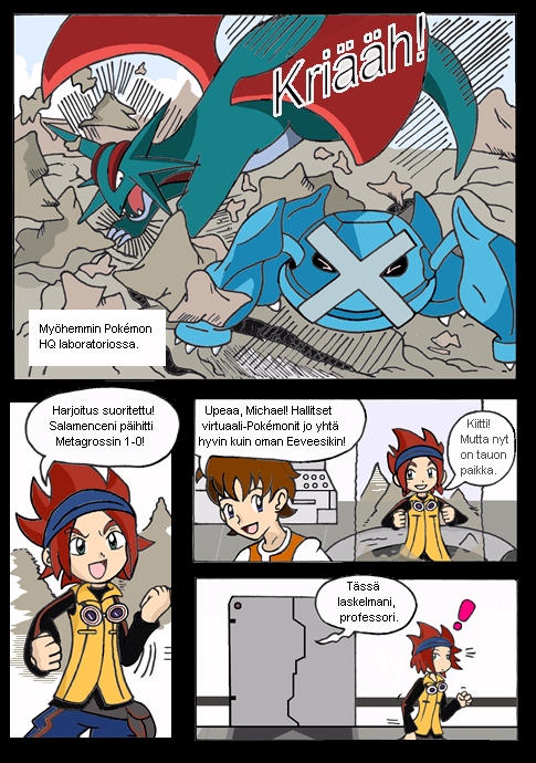 Pokemon Xd Comic Page 3 By Teejii On Deviantart