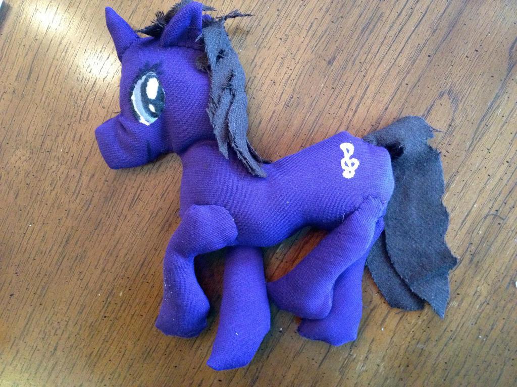 My Little Pony: OC Plushie by elisabethanrose