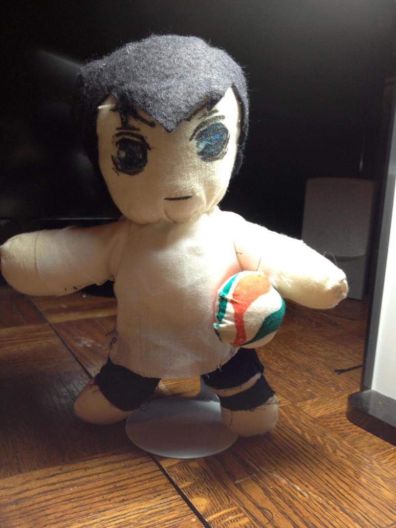 Haikyuu!! Kageyama Plush by elisabethanrose