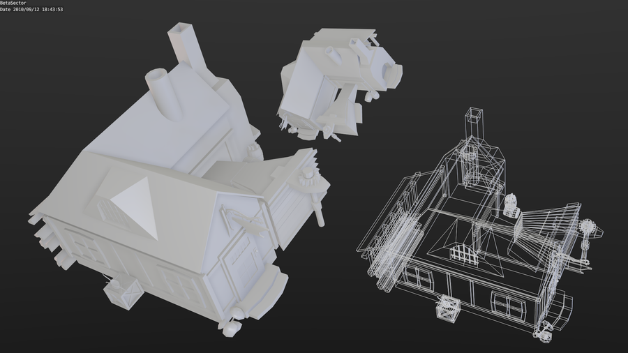 Third Low Poly Art Pubg: Low-poly Blacksmiths' By Betasector On DeviantART