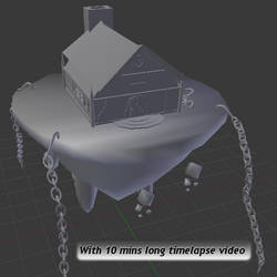 Floating house timelapse by betasector