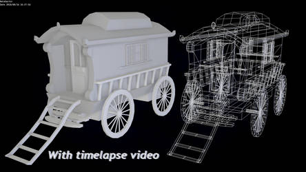 Gipsy caravan + timelapse by betasector