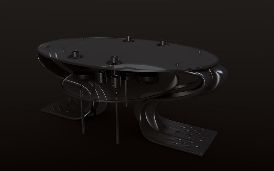 Sci-fi table concept 2