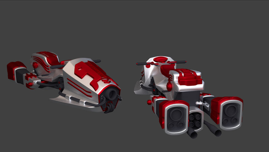 G2 Speedster previz