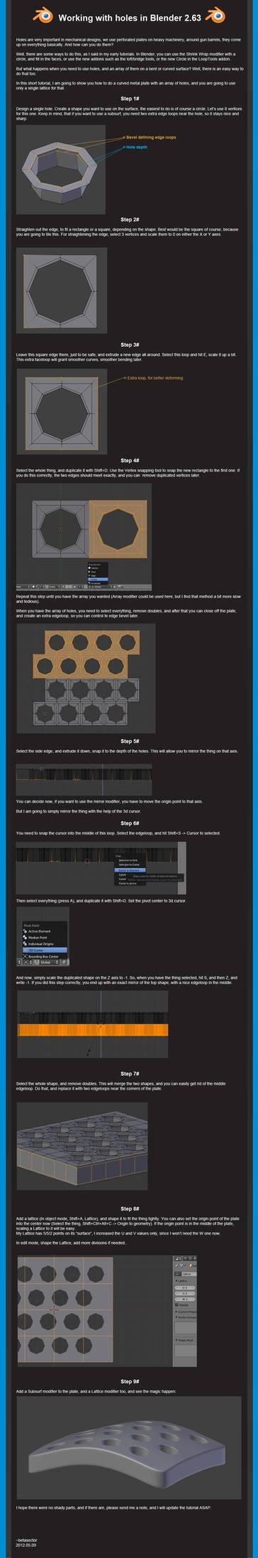 Hole magic tutorial