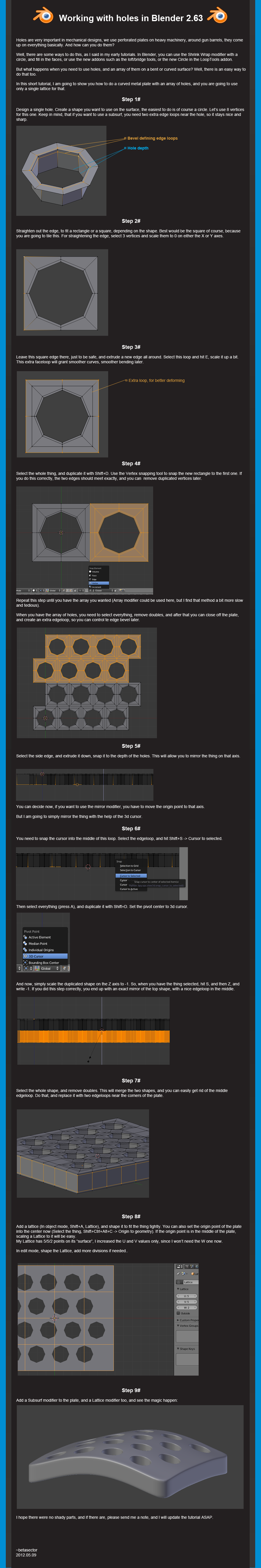 Hole magic tutorial by betasector