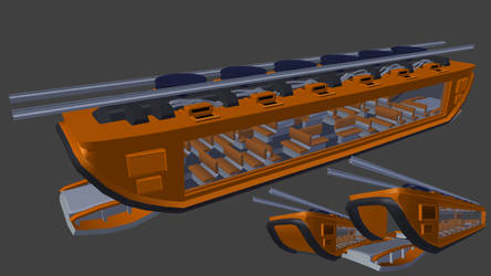 Tram design for Spectral (WIP) by betasector