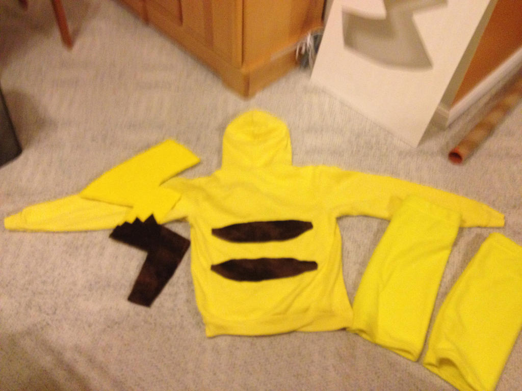 Cosplay Work In Progress: Pikachu by SuperSonic096