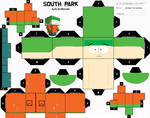South Park Kyle Cubee Template