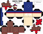 South Park Stan Cubee Template