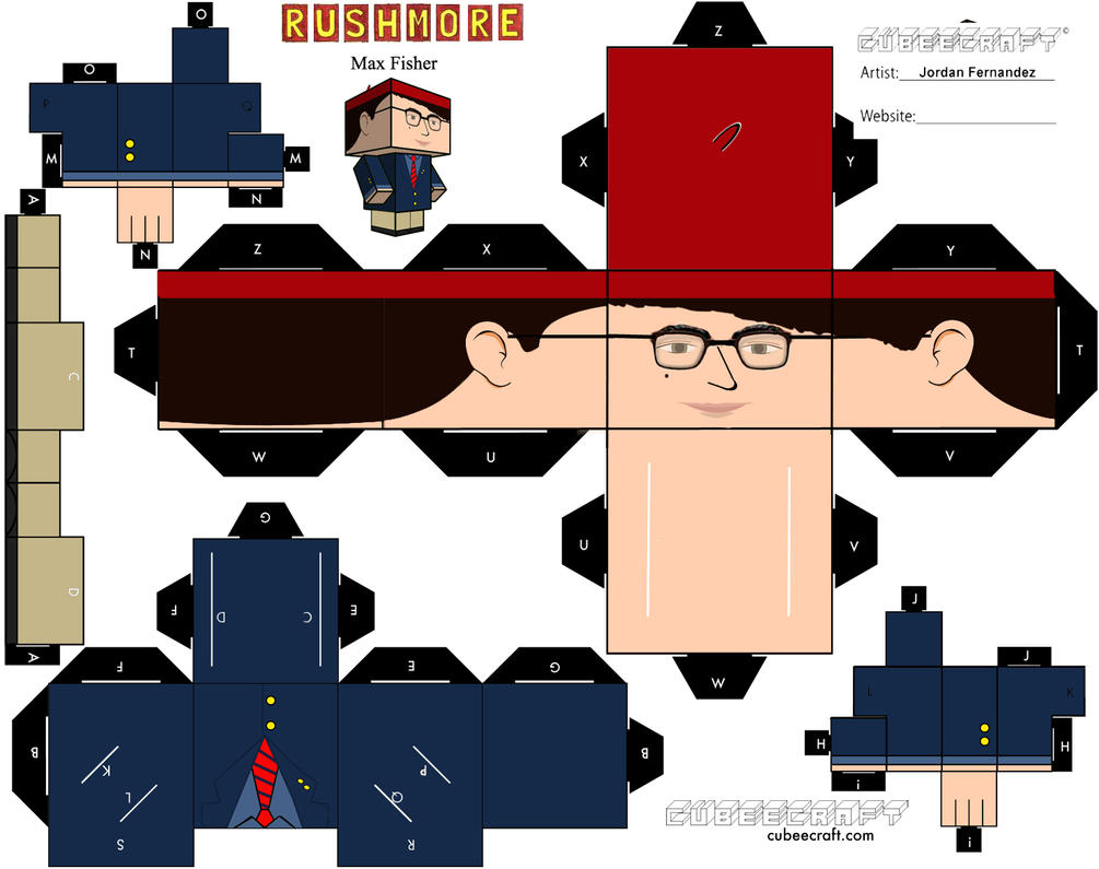 Max Fisher Cubee Template By Jordof131