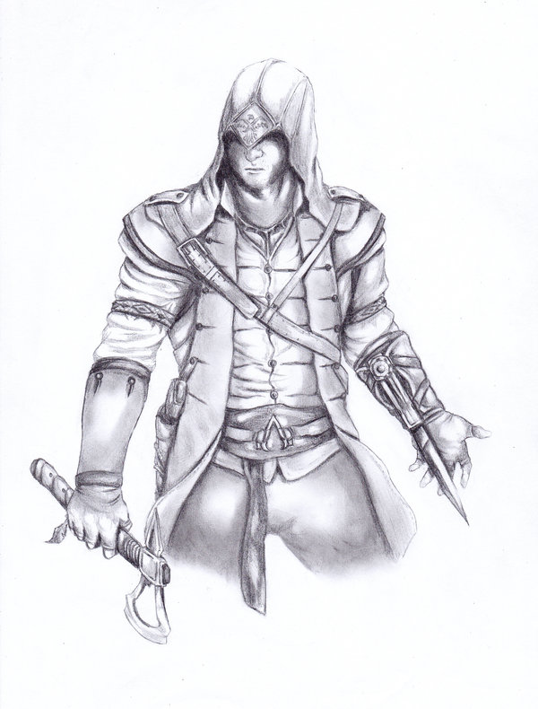 Assassins Creed III (Connor) by Monsterofthesea