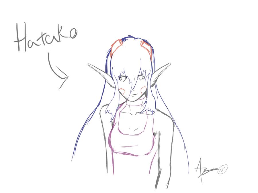 Hatako WIP by AzrealsArt