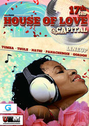 House Of Love Flyer