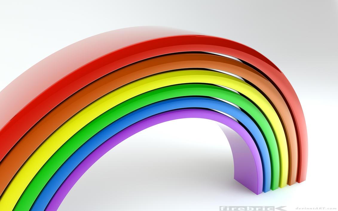 rainbow up by Steven-Becker