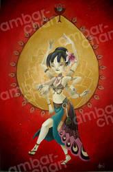 Bellydancer Lucrecia by ambar-chan