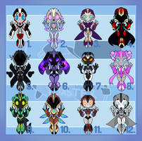 Point Symmetrical Adopts! (8/12) UPDATED PRICE