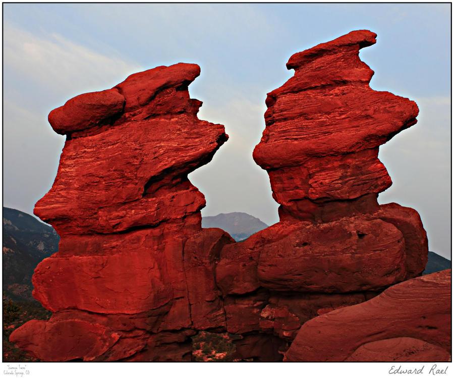 Siamese Twins by Erael71