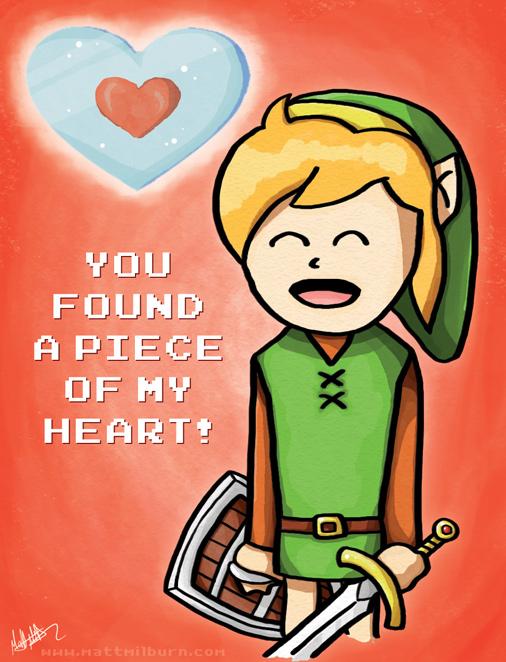 Legend of Zelda Valentine by Zelda Valentine