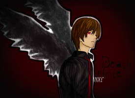 Light Yagami by uultravioletlight