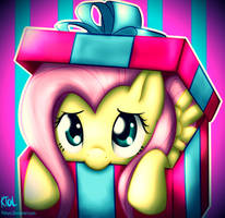Commission: Flutters in a Box by Pshyzomancer