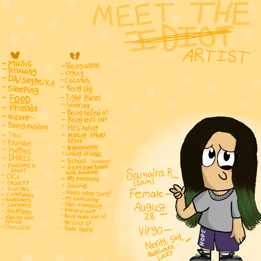 Meet The Artisssst by MommyDraw