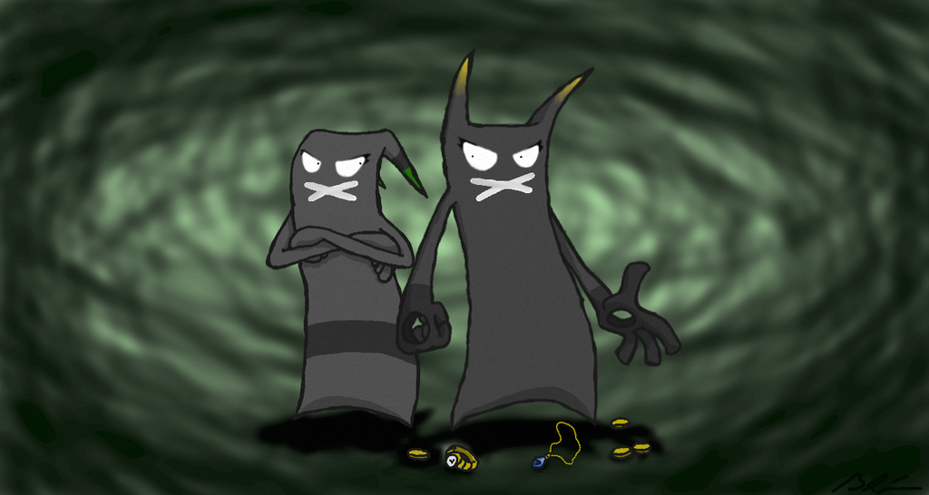 Demons: Greed and Envy by Quinn21C