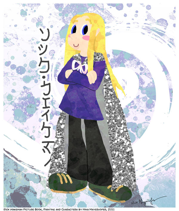 Picture Book 70s Rick Wakeman by MissNeens on deviantART
