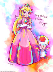 Princess Toadstool and Toad