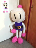 Bomberman Plushie by MissNeens
