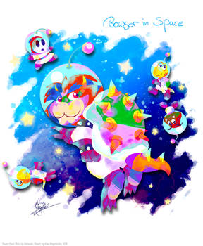 Bowser in Space