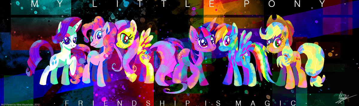 MLP: Something about Friendship by MissNeens