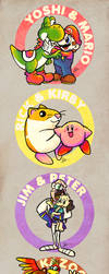 Videogame Best Friends Forever! by MissNeens