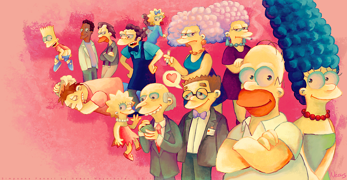 Springfield's loveliest citizens by MissNeens