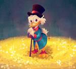 Uncle Scrooge's treasures