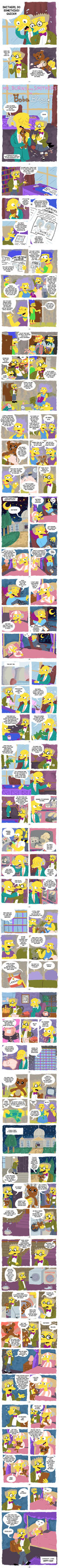 Mr. Burns and Smithers in 'Bobo Blues' by MissNeens