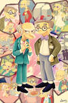 I love Mr. Burns and Smithers