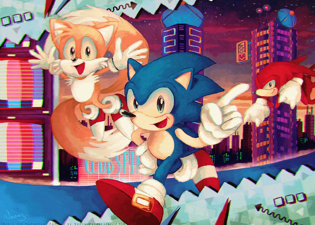 Sonic Mania: Studiopolis Zone by MissNeens on DeviantArt