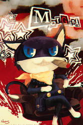 Persona 5 - Morgana by MissNeens