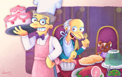 Head Chef Smithers by MissNeens