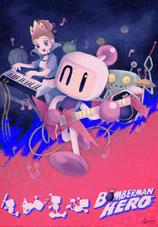 Bomberman Hero by MissNeens