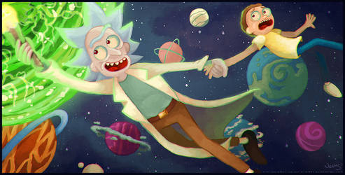 Rick and Morty: Into the next Dimension by MissNeens