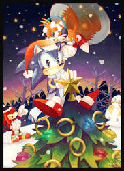 Christmas with Sonic and Friends