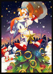 Christmas with Sonic and Friends by MissNeens