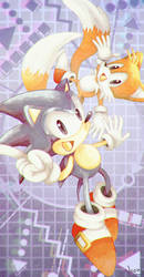 Sonic and Tails: Dreamteam by MissNeens