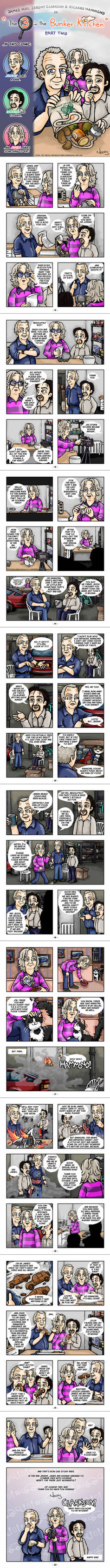 Comic 'The 3 in the Bunker Kitchen' - Part Two