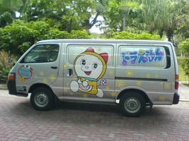Doraemon Van by chemicalorange