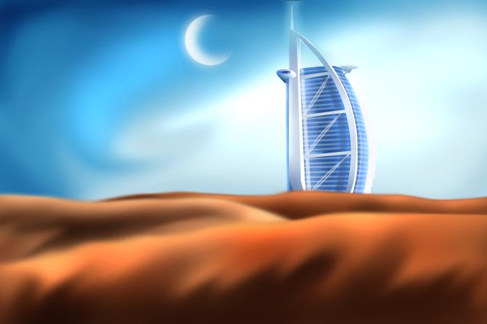 Dubai by chemicalorange